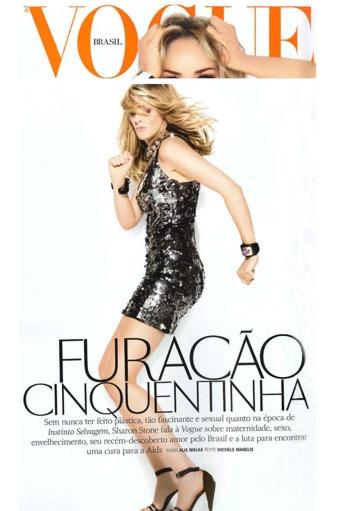 Vogue Brasil | Sharon Stone